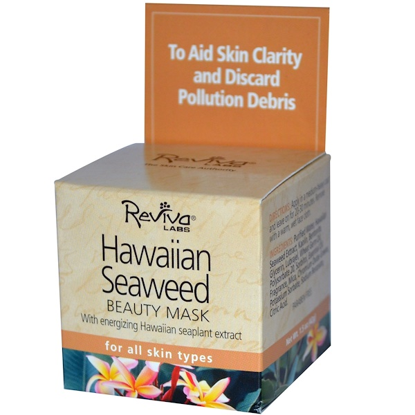 Reviva Labs, Hawaiian Seaweed Beauty Mask, 1.5 oz (42 g) (Discontinued Item)