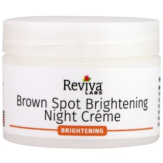 Reviva Labs, Brown Spot Skin Lightening Night Cream, 1.5 oz (42 g)