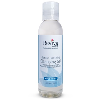 Reviva Labs, Gentle Soothing Cleansing Gel, 4 fl oz (118 ml)