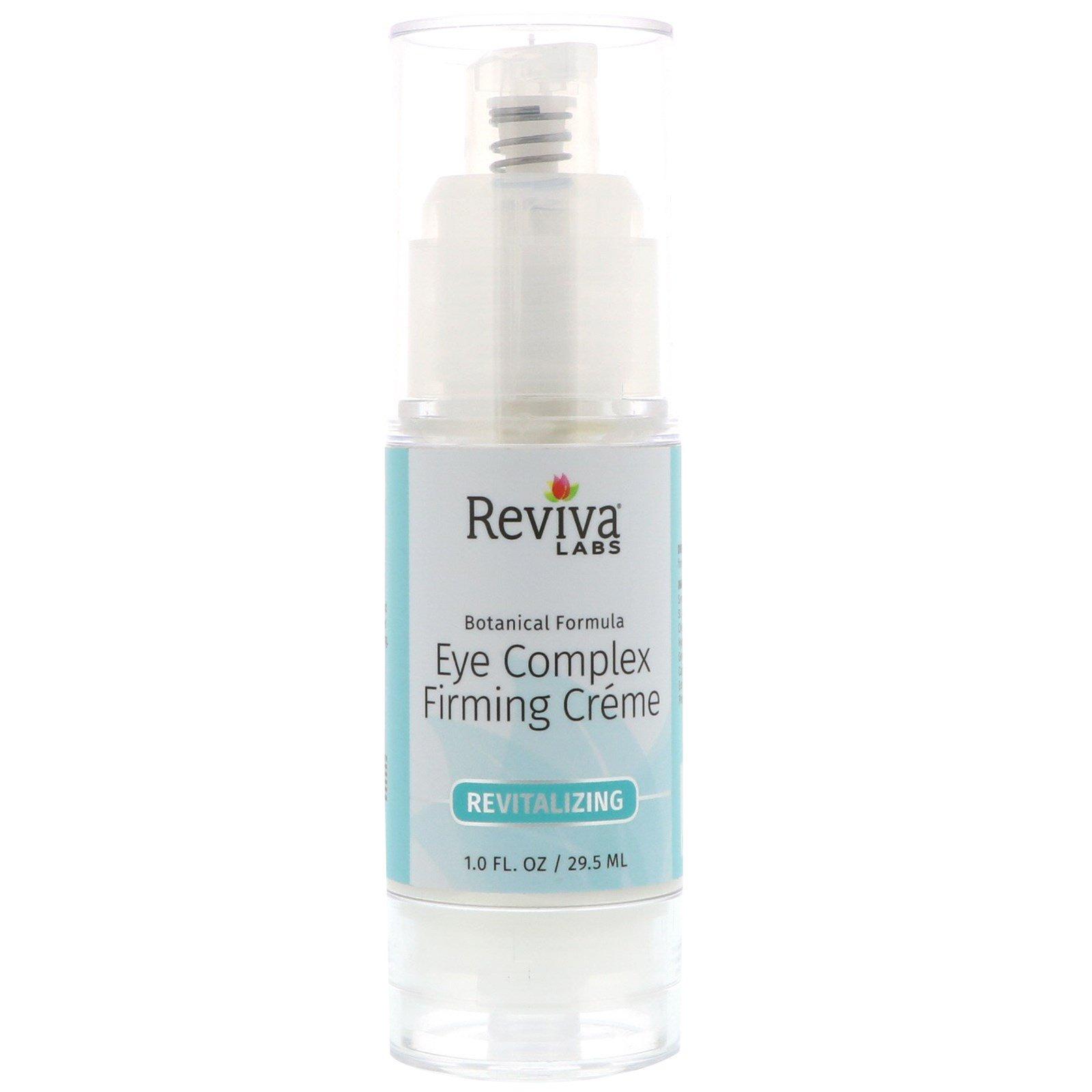 Reviva Labs, Комплексный укрепляющий крем для зоны вокруг глаз, 1 жидк. унц. (29,5 мл)
