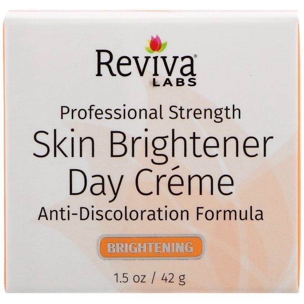 Reviva Labs, Skin Brightener Day Creme, 1.5 oz (42 g)