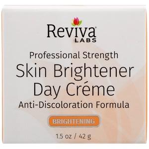 Ревива Лабс, Skin Brightener Day Creme, 1.5 oz (42 g) отзывы