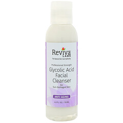 Reviva Labs, 乙醇酸潔面乳,4液體盎司(118毫升)