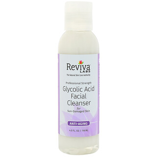 Reviva Labs, Glycolic Acid Facial Cleanser, 4 fl oz (118 ml)