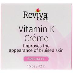 Reviva Labs, 維生素K護膚霜,1.5盎司(42克)