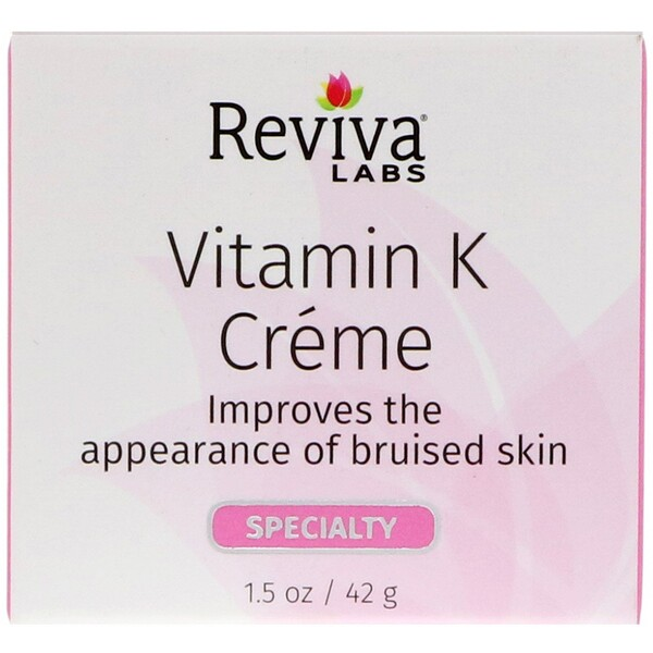 Reviva Labs, Vitamin K Creme, 1.5 oz (42 g)