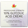 Reviva Labs, 10% Glycolic Acid Cream, Anti-Aging, 2.0 oz (55 g)