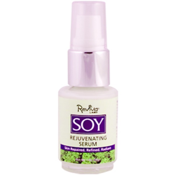 Reviva Labs, Soy Rejuvenating Serum, 1 oz (29.5 ml) (Discontinued Item)