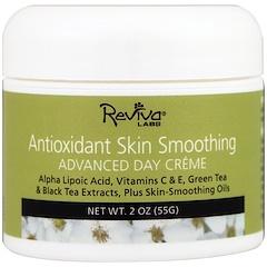 Reviva Labs, Антиоксидантный разглаживающий дневной крем, 2 унции (55 г)