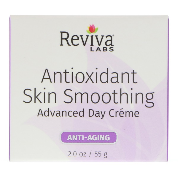 Reviva Labs, Antioxidant Skin Smoothing, Advanced Day Cream, Anti-Aging, 2 oz (55 g) (Discontinued Item)