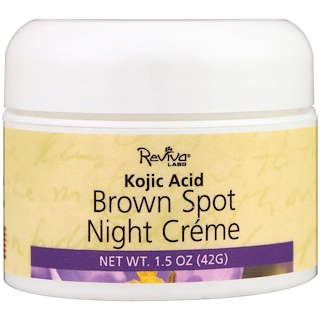 Reviva Labs, Ночной крем Brown Spot, 1,5 унц. (42 г)