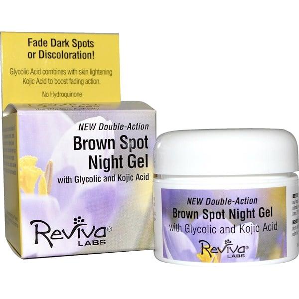 Reviva Labs, Brown Spot Night Gel, 1.25 oz (35 g) (Discontinued Item)