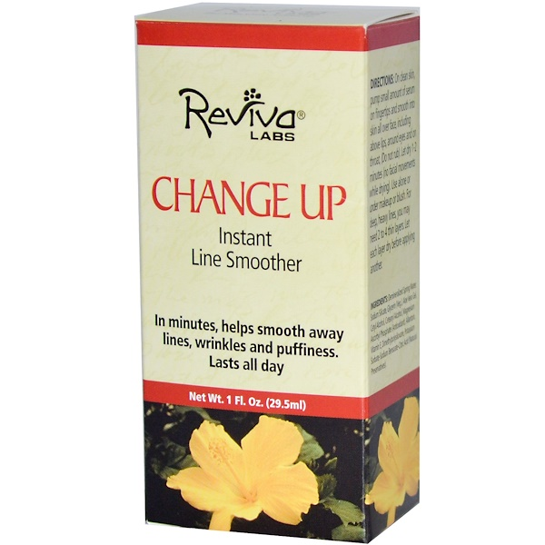 Reviva Labs, Change Up, Instant Line Smoother, 1 fl oz (29.5 ml) (Discontinued Item)