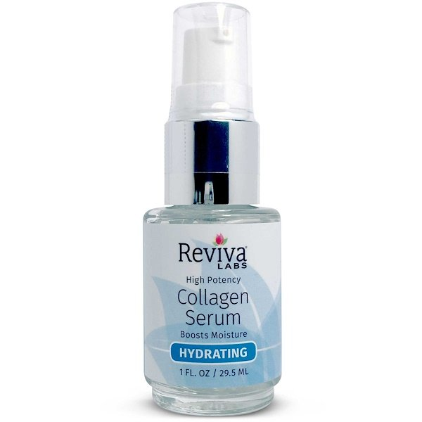 Reviva Labs, Collagen Serum, High Potency, (Suero de Colágeno, Alta Potencia) 1 fl oz (29.5 ml)