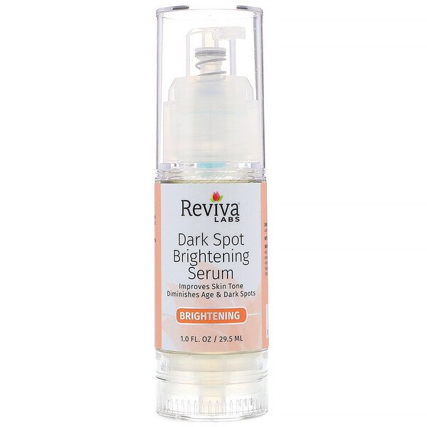 Reviva Labs, Serum Manchas Oscuras, Lighten & Brighten (Aclare e Ilumine), 1 fl oz (29.5 ml)