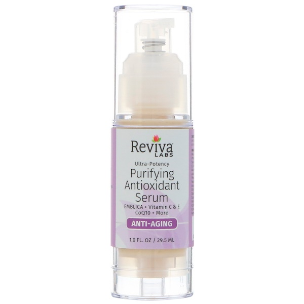 Reviva Labs, Purifying Antioxidant Serum, 1 fl oz (29.5 ml) (Discontinued Item)