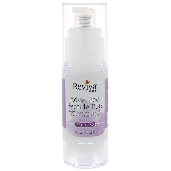 Reviva Labs, Advanced Peptide Plus, Anti Aging, 1 fl oz (29.5 ml)