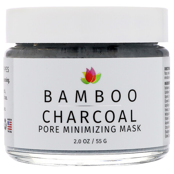 Reviva Labs, Bamboo Charcoal, Pore Minimizing Beauty Mask, 2 oz (55 g)