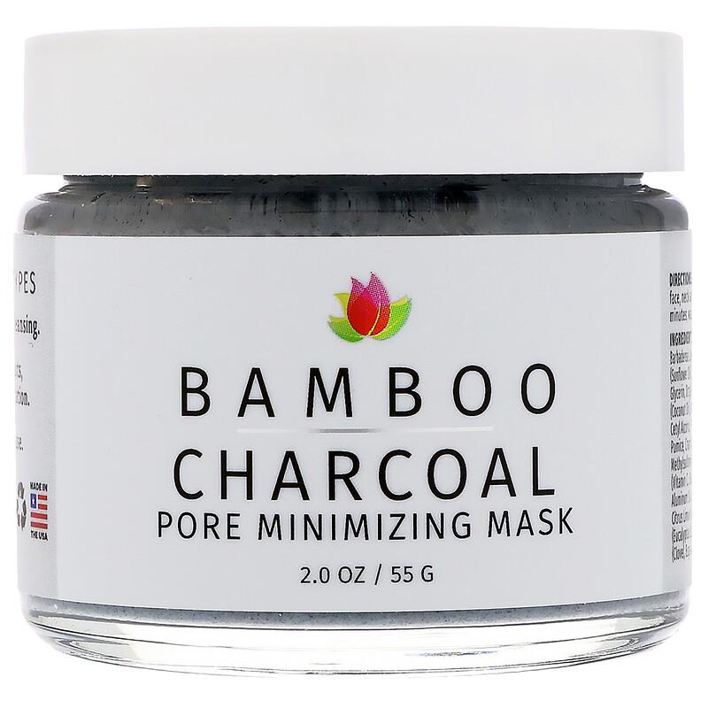 Bamboo Charcoal, Pore Minimizing Mask, 2 oz (55 g)