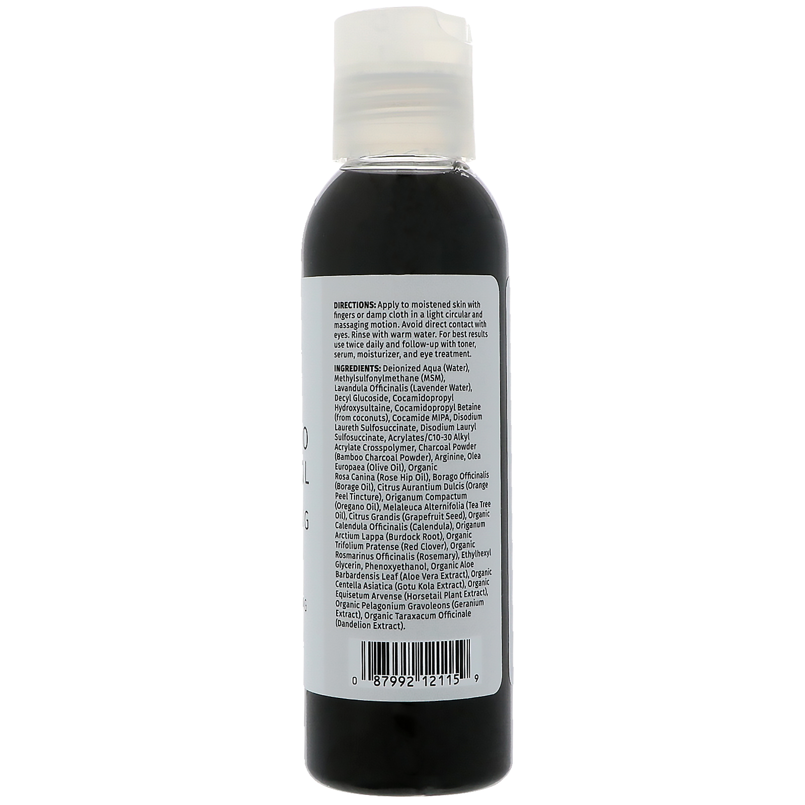 Reviva Labs Bamboo Charcoal Cleansing Gel Pore Minimizing 118ml/4oz - For All Skin Types kNutek The Gift Of Youth Kit