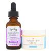 Reviva Labs, Dual Source Vitamin C Serum & Throat and Eye Creme, 2 Piece Bundle
