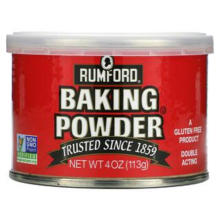 Rumford, Baking Powder, 4 oz (113 g)