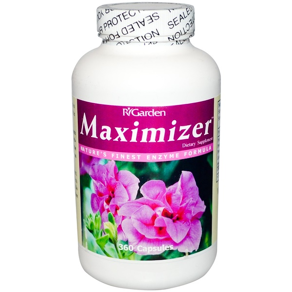 R Garden, Maximizer, 360 Capsules (Discontinued Item)