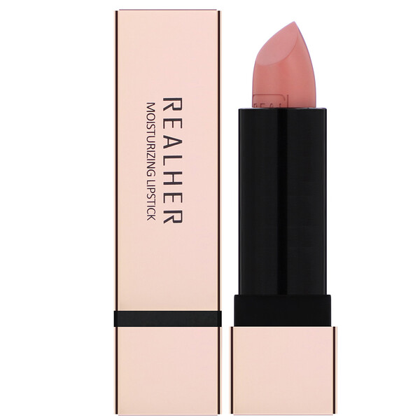 RealHer, Girl Power, Moisturizing Lipstick, Deep Mauve,  0.12 oz (3.5 g)