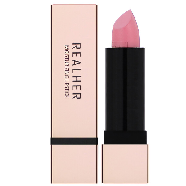 So Sassy, Moisturizing Lipstick, Pink, 0.12 oz (3.5 g)