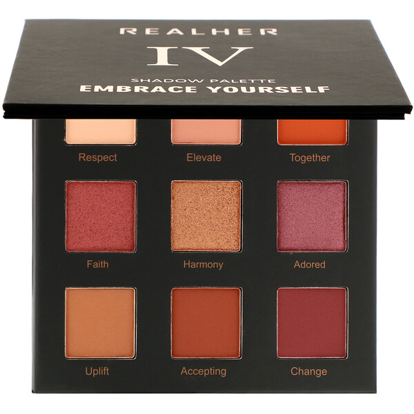 RealHer, Embrace Yourself, Shadow Palette IV, 0.36 oz (10.8 g) (Discontinued Item)