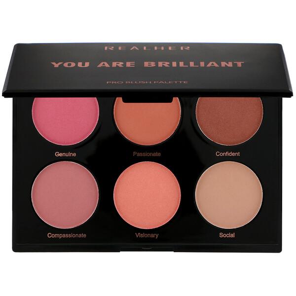 You Are Brilliant, Pro Blush Palette, 0.66 oz (18 g)