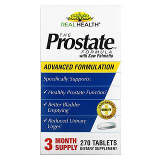Real Health, The Prostate Formula con palmito silvestre, 270 tabletas