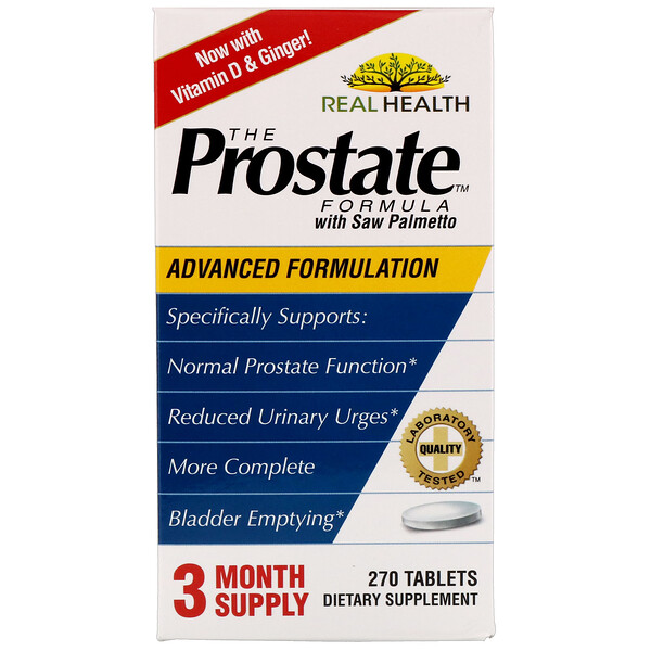 The Prostate Formula avec Saw Palmetto, 270 comprimés