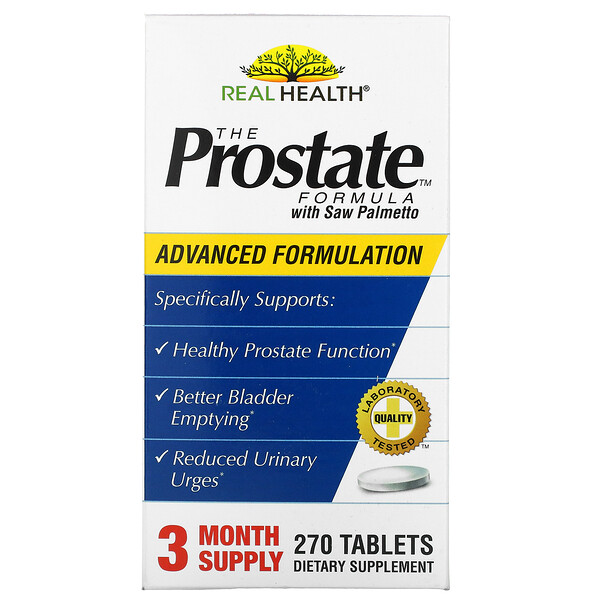 The Prostate Formula with Saw Palmetto, 270 Tablets