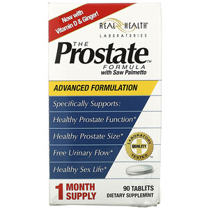 Рил Хэлс, The Prostate Formula with Saw Palmetto, 90 Tablets отзывы