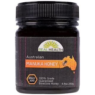 Real Health, Australian Manuka Honey, MGO 300, 8.8 oz (250 g)