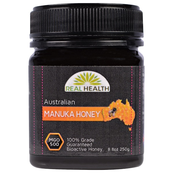 Real Health, Australian Manuka Honey, MGO 500, 8.8 oz (250 g) (Discontinued Item)