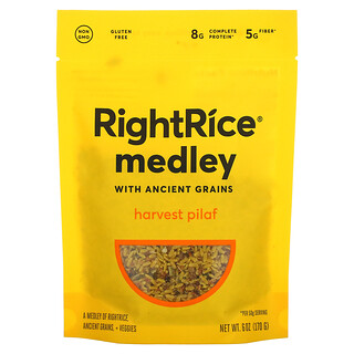 Rightrice, Medley with Ancient Grains, Harvest Pilaf, 6 oz (170 g)