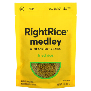Rightrice, Medley with Ancient Grains, Fried Rice, 6 oz (170 g)