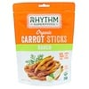 Rhythm Superfoods, Organic Carrot Sticks, Ranch, 1.4 oz (40 g)