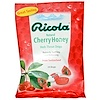 Ricola, Natural Cherry Honey, Herb Throat Drops, 24 Drops