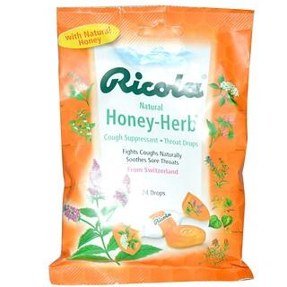 Ricola, Натуральный мед из трав, 24 капли