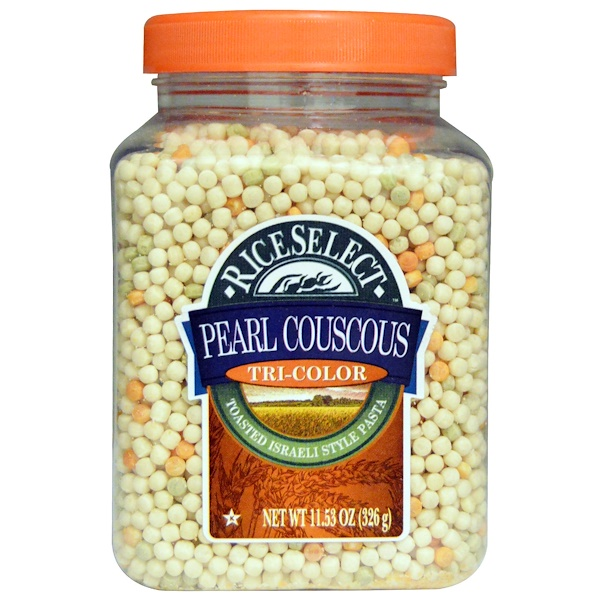 Rice Select, Pearl Couscous, Tri-Color, 11.53 oz (326 g) (Discontinued Item)