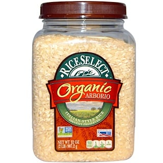 Rice Select, Organic Arborio, Italian-Style Rice, 32 oz (907.2 g)