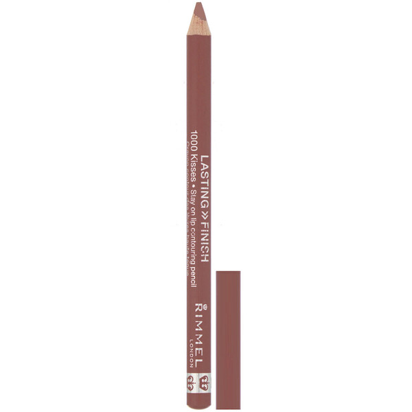 Rimmel London, Lasting Finish, 1000 Kisses Stay On Lip Contouring Pencil, 050 Tiramisu, .04 oz (1.2 g)