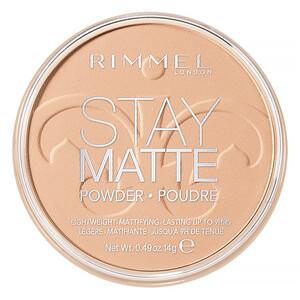 Rimmel London, Stay Matte Pressed Powder, Lightweight Mattifying, 004 Sandstorm, 0.49 oz (14 g) отзывы покупателей