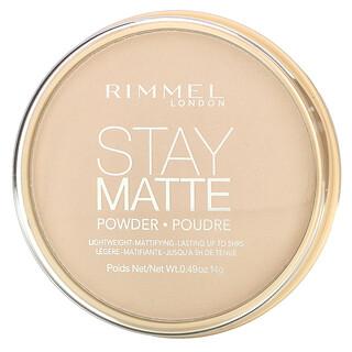 Rimmel London, Stay Matte Powder, 003 Natural, 0.49 oz (14 g)