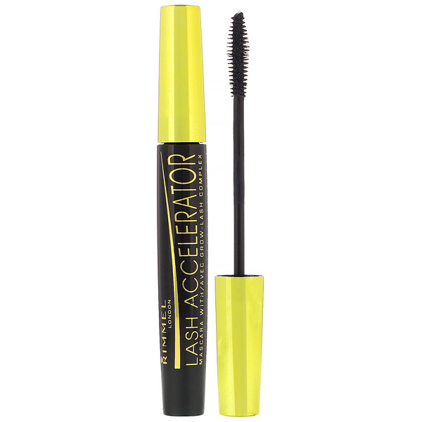Rimmel London, Lash Accelerator Mascara, 003 Extreme Black, .23 fl oz (7 ml)