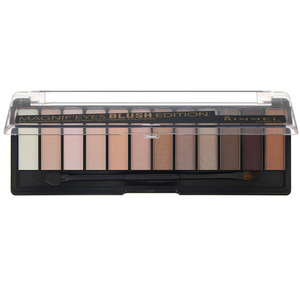 Rimmel London, Magnif'Eyes Eye Contouring Palette, 002 Blush Edition, 0.499 oz (14.16 g) (Discontinued Item)