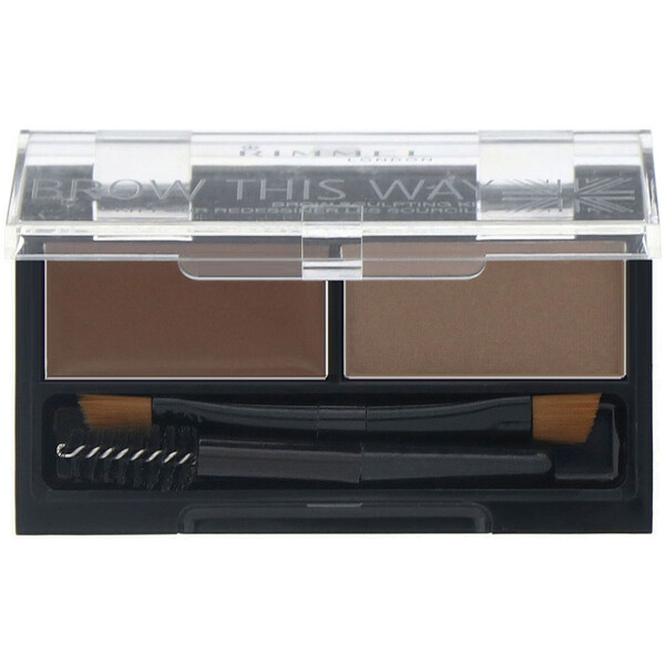 Brow This Way Brow Sculpting Kit, 002 Medium Brown, 1 Kit